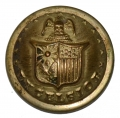 NEW YORK STATE SEAL STAFF COAT BUTTON