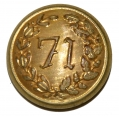 NEW YORK 71ST REGIMENT COAT BUTTON