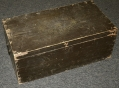 MILITIA RIFLE COMPANY STORAGE CHEST ABOUT 1825-1845