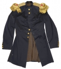ARTILLERY OFFICER'S FROCK IDENTIFIED TO HIERO B. HERR, 1st US ARTILLERY: REGULAR ARMY OFFICER AND U.S. MILITARY ACADEMY INSTRUCTOR