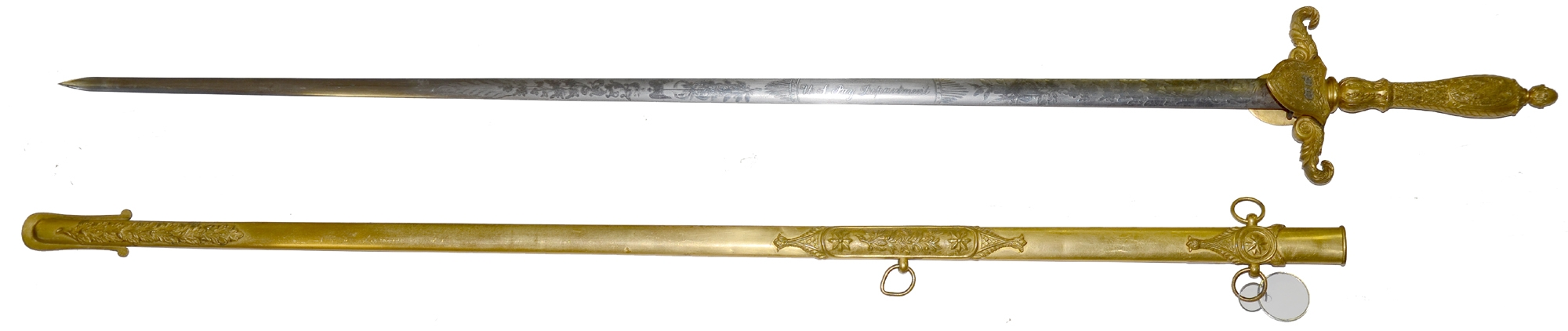 MODEL 1840 PAYMASTER DEPARTMENT SWORD BY AMES