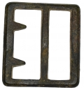 "CS ""BEVELED EDGE"" FRAME BUCKLE, ""CAVALRY"" STYLE, RECOVERED AT FREDERICKSBURG, VAREVOLVER FROM SHILOH, TENNESSEE"