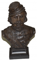 GENERAL GEORGE PICKETT BUST BY RON TUNISON