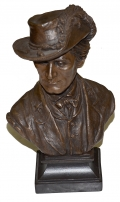 COLONEL JOHN SINGLETON MOSBY BUST BY RON TUNISON