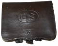 US REGULATION 1864 PATTERN .58 CALIBER INFANTRY CARTRIDGE BOX