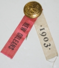 1903 UNITED CONFEDERATE VETERANS NEW ORLEANS REUNION RIBBON