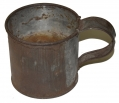 TINNED IRON MESS CUP