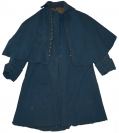 CIVIL WAR ISSUE ENLISTED OVERCOAT IDENTIFIED TO LEMUEL FRANKLIN LISCOM, 14th NEW HAMPSHIRE