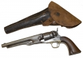 MODEL 1860 COLT ARMY WITH HOLSTER IDENTIFIED TO MEMBER OF THE 16TH PENNSYLVANIA CAVALRY
