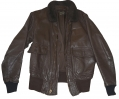 VIETNAM WAR 1969 DATED NAVY G-1 LEATHER FLIGHT JACKET