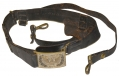 CIVIL WAR OFFICER'S SWORD BELT WITH PATTERN 1851 BUCKLE