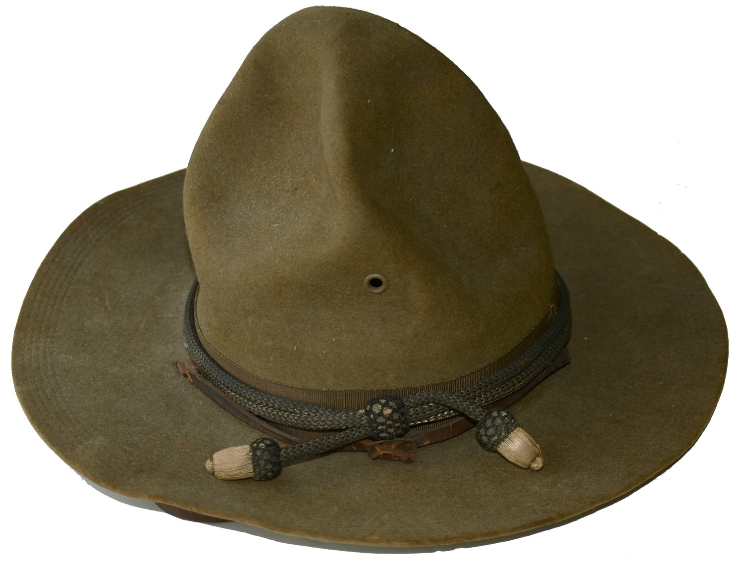 COMPLETE WORLD WAR ONE OFFICER'S CAMPAIGN HAT