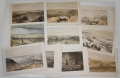 10 WATER-COLORED LITHOGRAPHS – CRIMEAN WAR