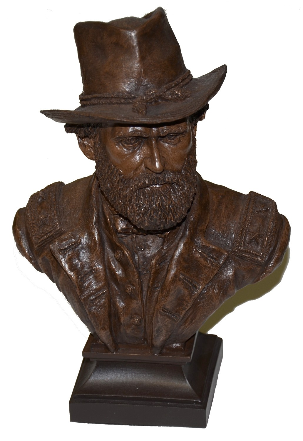 GENERAL ULYSSES S. GRANT BUST BY RON TUNISON