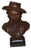 GENERAL GEORGE A. CUSTER BUST BY RON TUNISON