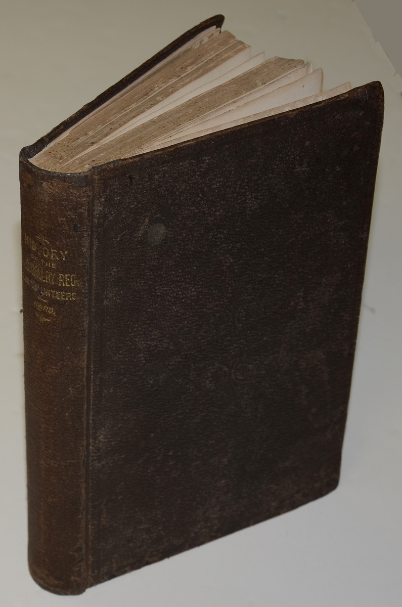 ORIGINAL 1868 COPY OF THE HISTORY OF THE 8TH ILLINOIS CAVALRY