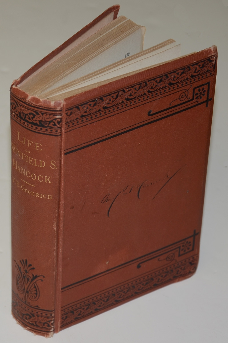 "1880 COPY OF ""LIFE OF WINFIELD S. HANCOCK"""