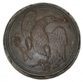 EAGLE BREAST PLATE RECOVERED IN VIRGINIA