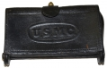 ".45/70 McKEEVER CARTRIDGE BOX MARKED ""U.S.M.C"""