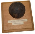 RELIC HALF 6-POUND CANNON BALL – RECOVERED FROM DEVIL'S DEN, GETTYSBURG