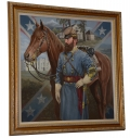 "ORIGINAL OIL PAINTING BY MICHAEL GNATEK – THOMAS ""STONEWALL"" JACKSON"