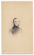 BUST CDV OF A UNION FIELD GRADE OFFICER