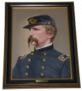 ORIGINAL OIL PAINTING OF 20TH MAINE LT. COL JOSHUA L. CHAMBERLAIN BY MICHAEL GNATEK