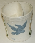 SHAVING MUG W/ SPREAD-WINGED EAGLE