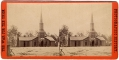 STEREOVIEW - CHURCH AT POPLAR GROVE, VA