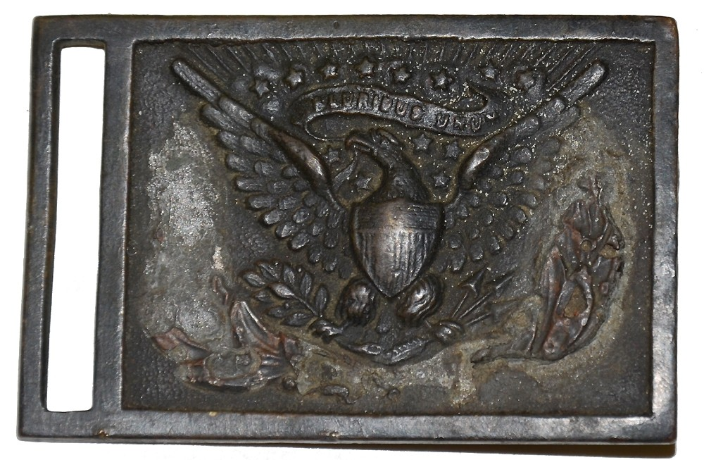 RELIC PATTERN 1851 NCO BELT PLATE RECOVERED IN VIRGINIA