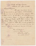1863 LETTER OF PROMOTION AND COMMENDATION FOR ANDREW BRYANT, 46TH MASSACHUSETTS – RECIPIENT OF MEDAL OF HONOR FOR ACTIONS AT BATCHELDER'S CREEK (NEW BERN, NC)