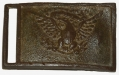 RELIC PATTERN 1851 NCO BELT PLATE RECOVERED AT GETTYSBURG