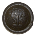 RELIC SOUTH CAROLINA STATE SEAL BUTTON