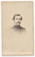 BUST VIEW CDV OF 40TH NEW YORK QUARTERMASTER