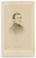 BUST CDV OF UNION ARMY SURGEON WHO WAS LATER AWARDED THE MEDAL OF HONOR