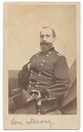 THREE-QUARTER SEATED VIEW OF BRIGADIER GENERAL CHARLES DEVENS
