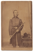 STANDING VIEW OF 35TH MASSACHUSETTS OFFICER WHO DIED OF WOUNDS RECEIVED AT SOUTH MOUNTAIN