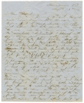 CONFEDERATE SOLDIER LETTER - FIRST LIEUT. WILLIAM C. CARRINGTON, 15TH VIRGINIA CAVALRY