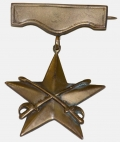 CIVIL WAR VETERAN'S CAVALRY BADGE