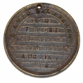 IDENTIFICATION DISC FOR 7TH RHODE ISLAND INFANTRY SOLDIER