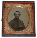 SIXTH PLATE TINTYPE OF UNION SOLDIER