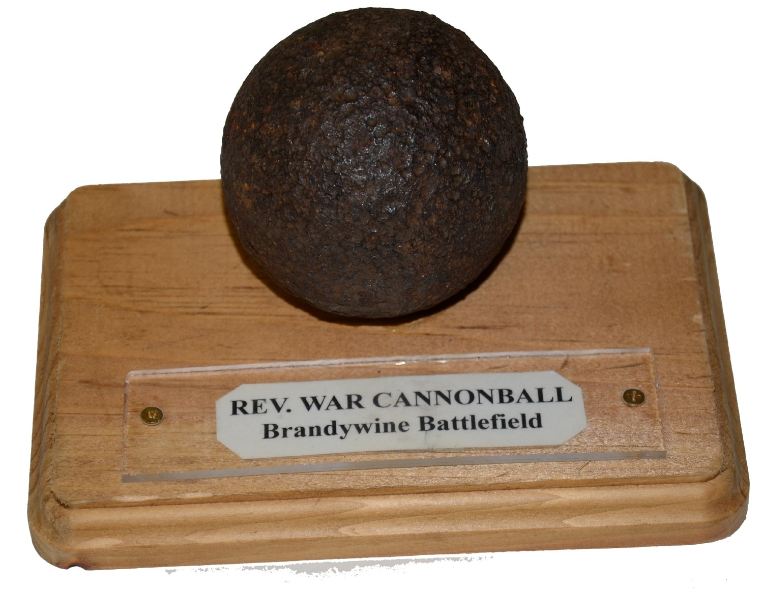 RELIC REV WAR CANNONBALL RECOVERED FROM BRANDYWINE BATTLEFIELD