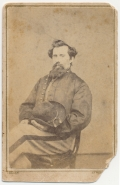 CDV OF AN UNIDENTIFIED FARRIER - 15TH PENNSYLVANIA CAVALRY