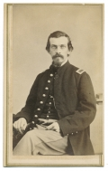 CDV OF A UNION LIEUTENANT FROM ITHACA, NY