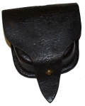 CIVIL WAR MAKER MARKED PERCUSSION CAP POUCH