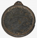 IDENTIFICATION DISC FOR 34TH MASSACHUSETTS INFANTRY SOLDIER