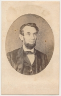 CDV WENDEROTH AND TAYLOR 1864 PHOTOGRAPH OF LINCOLN