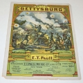 SHEET MUSIC - <I>BATTLE OF GETTYSBURG, MARCH DESCRIPTIVE</I>