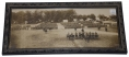 FRAMED PHOTOGRAPH OF THE NINTH PENNSYLVANIA NATIONAL GUARD AT GETTYSBURG 1910