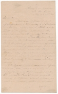 HANDWRITTEN CONFEDERATE CIRCULAR FROM THE ARMY OF TENNESSEE